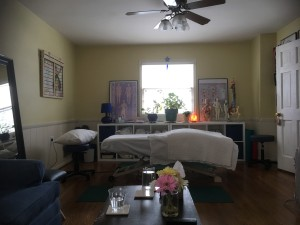 massage room and table march 2017